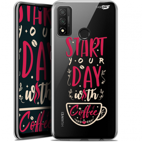 "Coque Gel Huawei P Smart 2020 (6.2"") Extra Fine Motif - Start With Coffee"