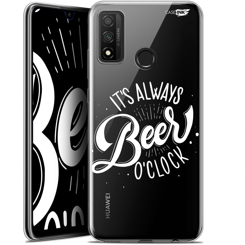 "Coque Gel Huawei P Smart 2020 (6.2"") Extra Fine Motif - Its Beer O'Clock"