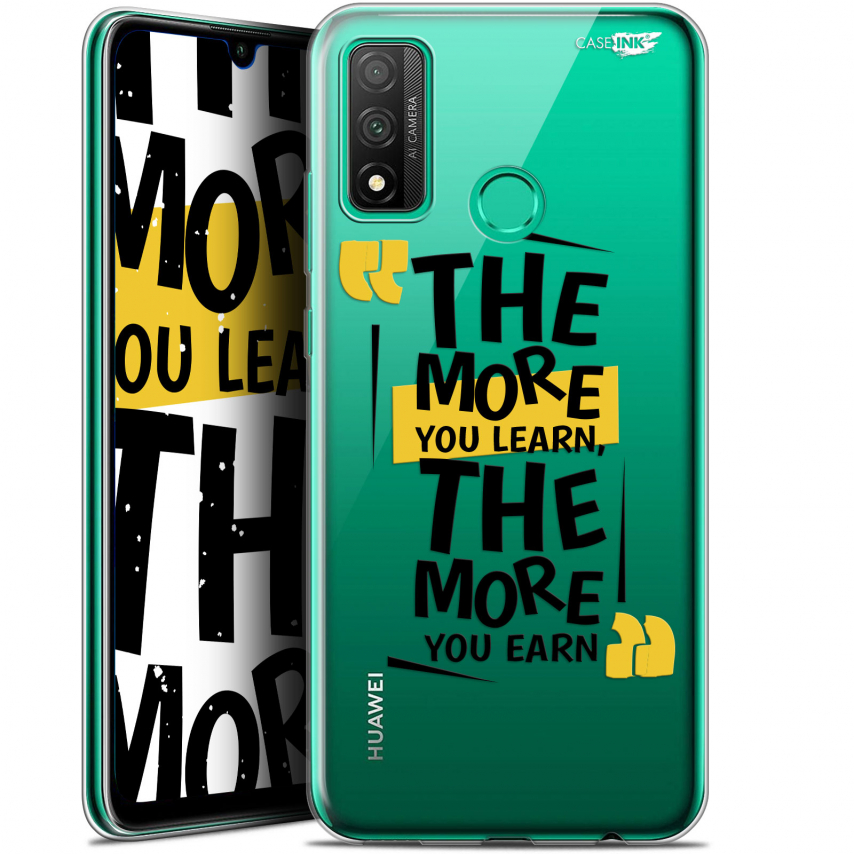 "Coque Gel Huawei P Smart 2020 (6.2"") Extra Fine Motif - The More You Learn"