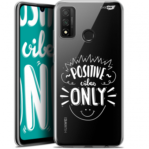 "Coque Gel Huawei P Smart 2020 (6.2"") Extra Fine Motif - Positive Vibes Only"