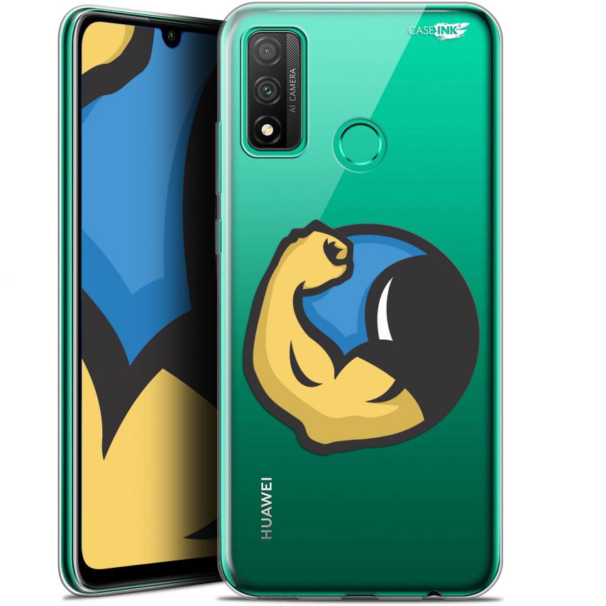 "Coque Gel Huawei P Smart 2020 (6.2"") Extra Fine Motif - Monsieur Muscle"