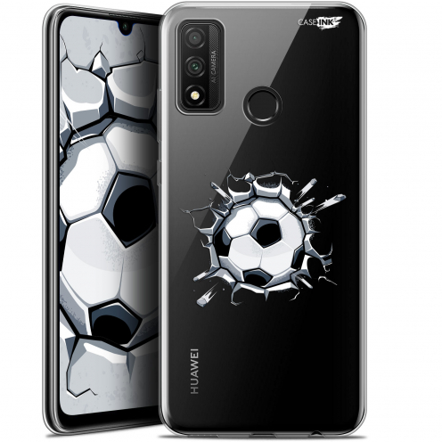 "Coque Gel Huawei P Smart 2020 (6.2"") Extra Fine Motif - Le Balon de Foot"