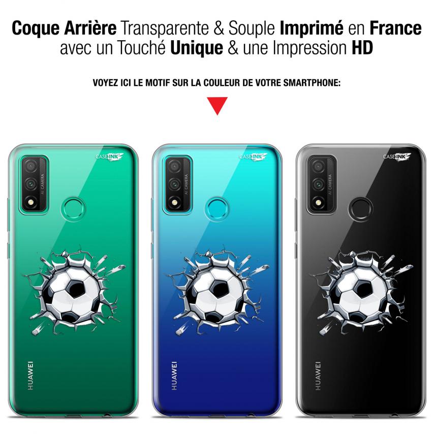"Coque Gel Huawei P Smart 2020 (6.2"") Extra Fine Motif - Le Balon de Foot"
