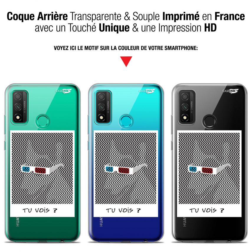 """Coque Gel Huawei P Smart 2020 (6.2"""") Extra Fine Motif - Tu Vois ce que Je Vois ?"""