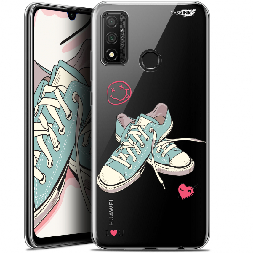 "Coque Gel Huawei P Smart 2020 (6.2"") Extra Fine Motif - Mes Sneakers d'Amour"