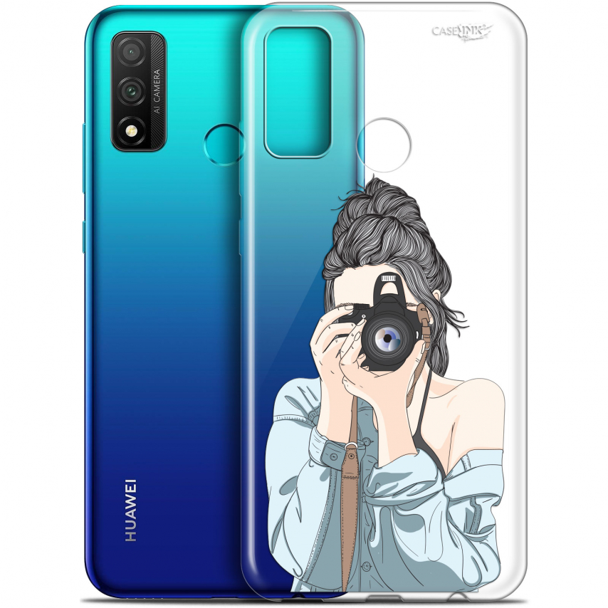 "Coque Gel Huawei P Smart 2020 (6.2"") Extra Fine Motif - La Photographe"