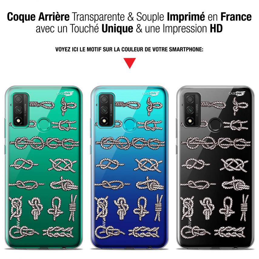 "Coque Gel Huawei P Smart 2020 (6.2"") Extra Fine Motif - Les Noeux"