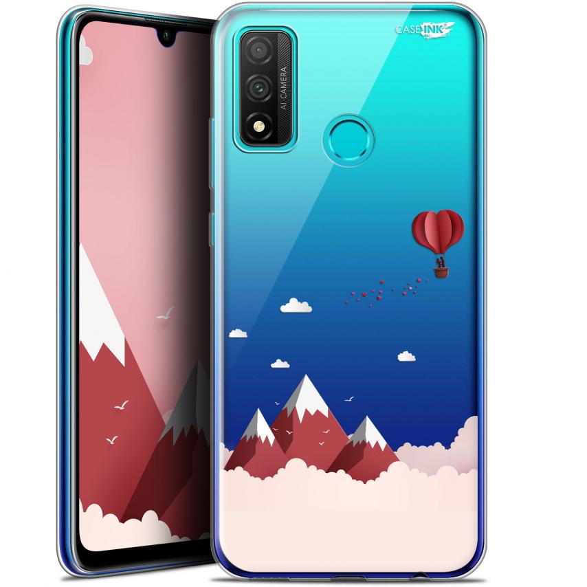 """Coque Gel Huawei P Smart 2020 (6.2"""") Extra Fine Motif - Montagne En Montgolfière"""