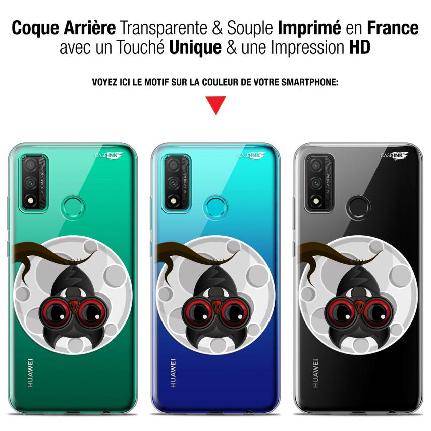 "Coque Gel Huawei P Smart 2020 (6.2"") Extra Fine Motif - Petit Vampire"