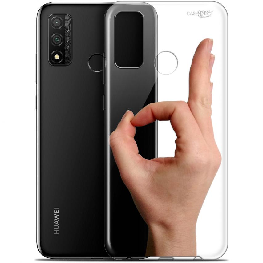 """Coque Gel Huawei P Smart 2020 (6.2"""") Extra Fine Motif - Le Jeu du Rond"""