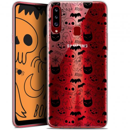 "Coque Gel Samsung Galaxy A20s (6.5"") Extra Fine Halloween - Spooky"