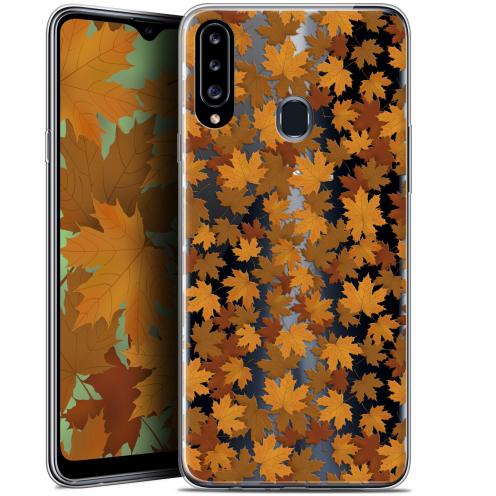 "Coque Gel Samsung Galaxy A20s (6.5"") Extra Fine Autumn 16 - Feuilles"
