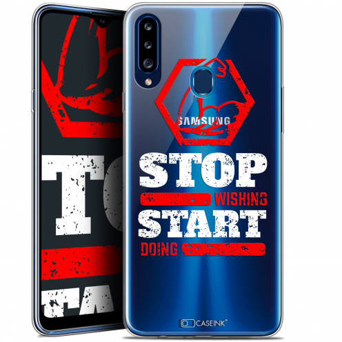 "Coque Gel Samsung Galaxy A20s (6.5"") Extra Fine Quote - Start Doing"