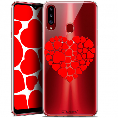 """Coque Gel Samsung Galaxy A20s (6.5"""") Extra Fine Love - Coeur des Coeurs"""