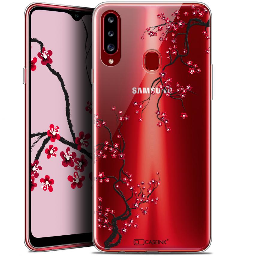 "Coque Gel Samsung Galaxy A20s (6.5"") Extra Fine Summer - Sakura"