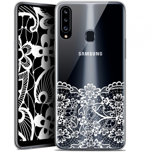 "Coque Gel Samsung Galaxy A20s (6.5"") Extra Fine Spring - Bas dentelle"