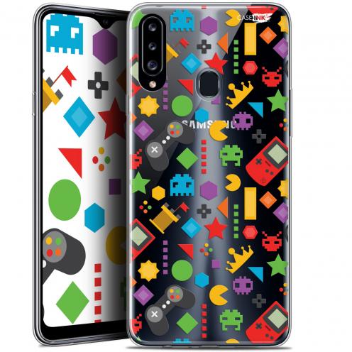 """Coque Gel Samsung Galaxy A20s (6.5"""") Extra Fine Motif - PacMan"""
