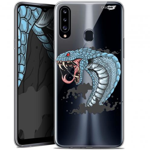 "Coque Gel Samsung Galaxy A20s (6.5"") Extra Fine Motif - Cobra Draw"