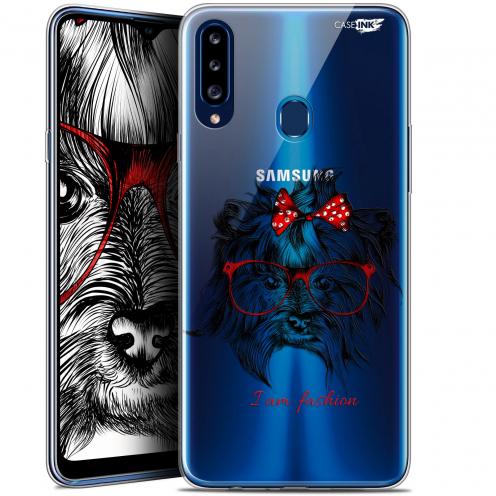 """Coque Gel Samsung Galaxy A20s (6.5"""") Extra Fine Motif - Fashion Dog"""