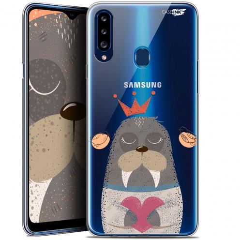 """Coque Gel Samsung Galaxy A20s (6.5"""") Extra Fine Motif - Sketchy Walrus"""
