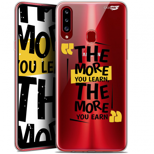 """Coque Gel Samsung Galaxy A20s (6.5"""") Extra Fine Motif - The More You Learn"""