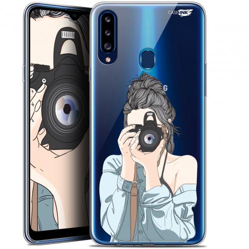 "Coque Gel Samsung Galaxy A20s (6.5"") Extra Fine Motif - La Photographe"