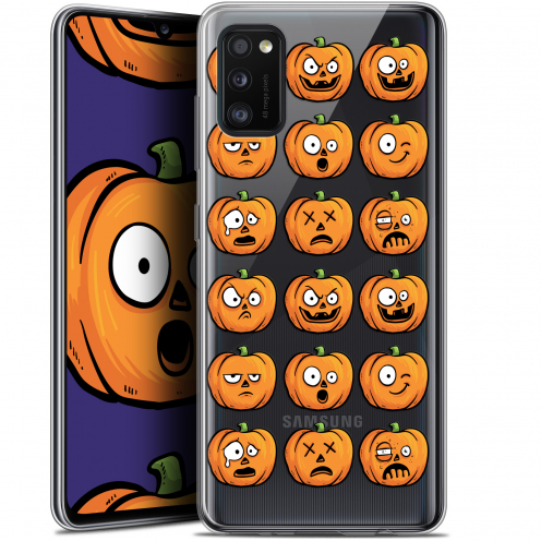 "Coque Gel Samsung Galaxy A41 (6.1"") Extra Fine Halloween - Cartoon Citrouille"