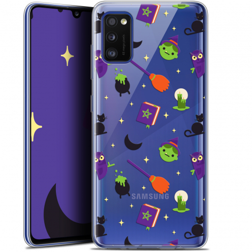 "Coque Gel Samsung Galaxy A41 (6.1"") Extra Fine Halloween - Witch Potter"