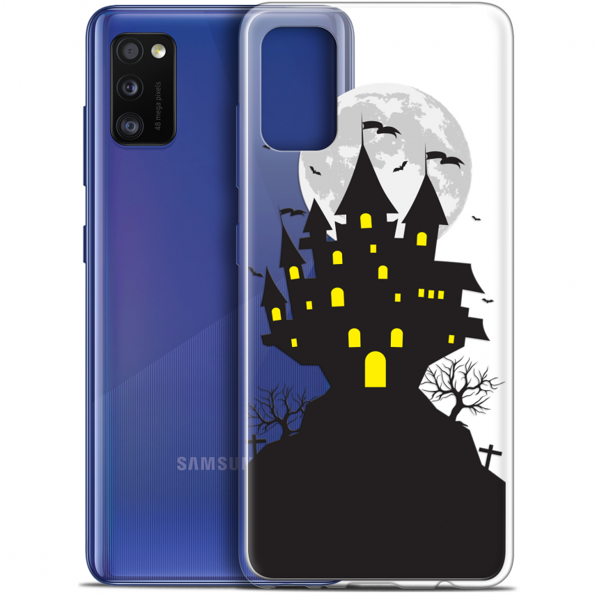 "Coque Gel Samsung Galaxy A41 (6.1"") Extra Fine Halloween - Castle Scream"