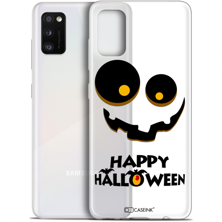 "Coque Gel Samsung Galaxy A41 (6.1"") Extra Fine Halloween - Happy"