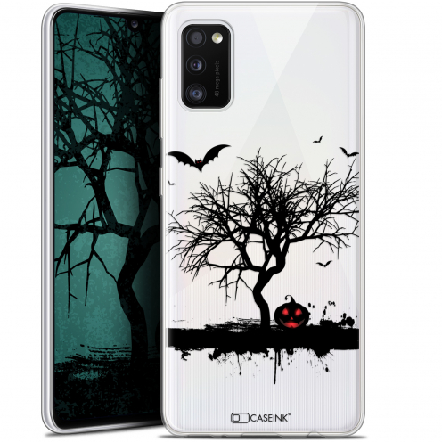 "Coque Gel Samsung Galaxy A41 (6.1"") Extra Fine Halloween - Devil's Tree"