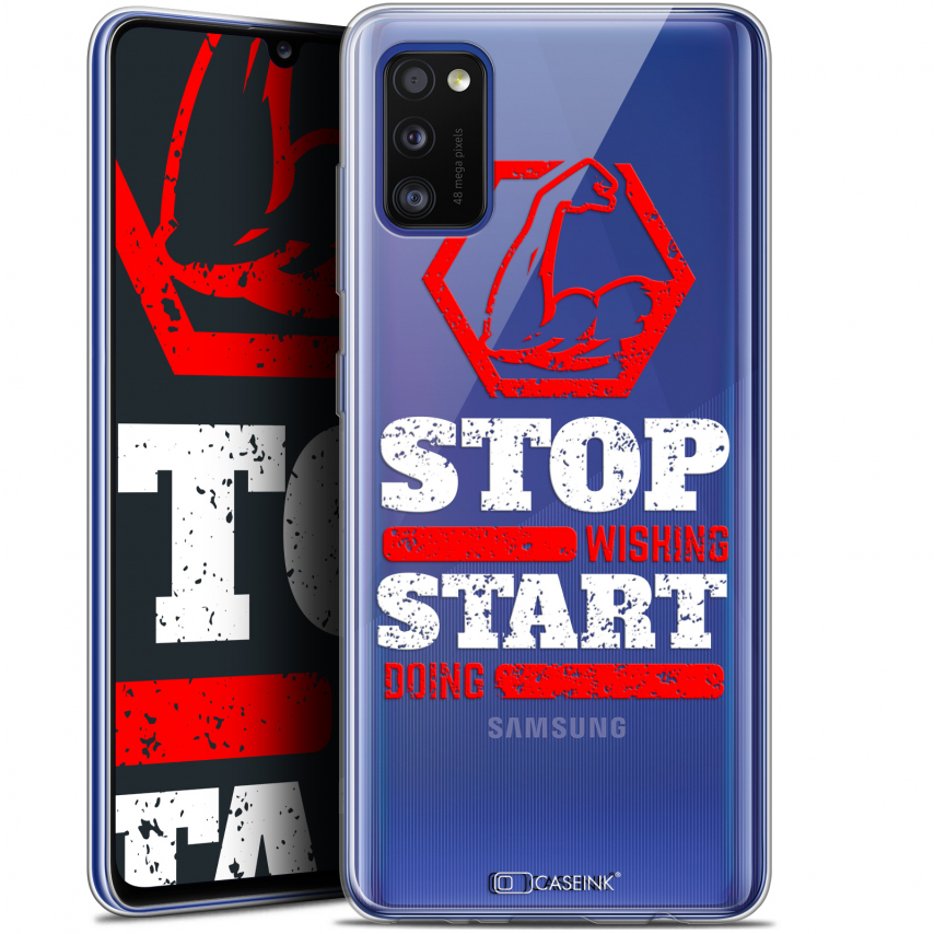 "Coque Gel Samsung Galaxy A41 (6.1"") Extra Fine Quote - Start Doing"