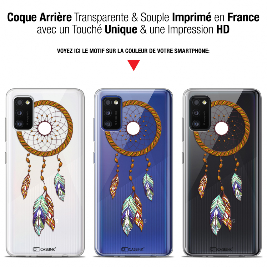 "Coque Gel Samsung Galaxy A41 (6.1"") Extra Fine Dreamy - Attrape Rêves Shine"
