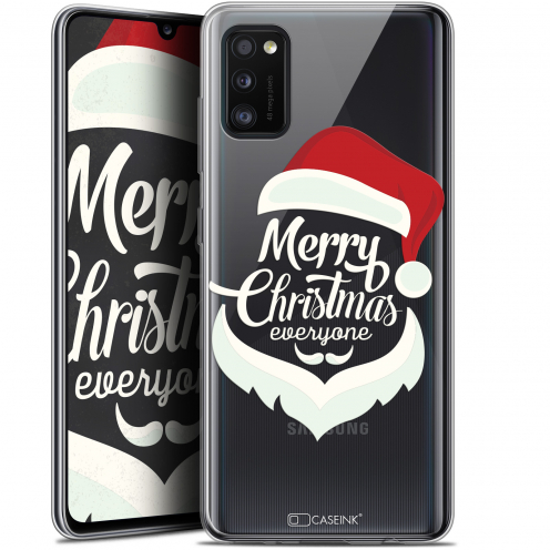 "Coque Gel Samsung Galaxy A41 (6.1"") Extra Fine Noël - Merry Everyone"