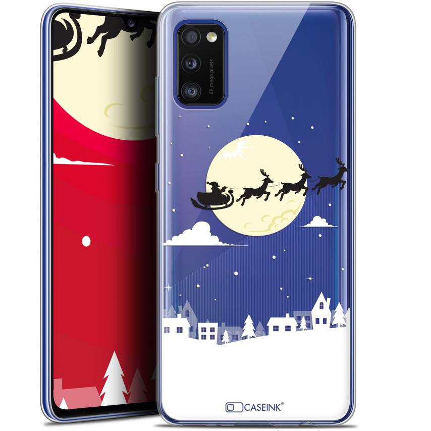 """Coque Gel Samsung Galaxy A41 (6.1"""") Extra Fine Noël - Flying Stanta"""