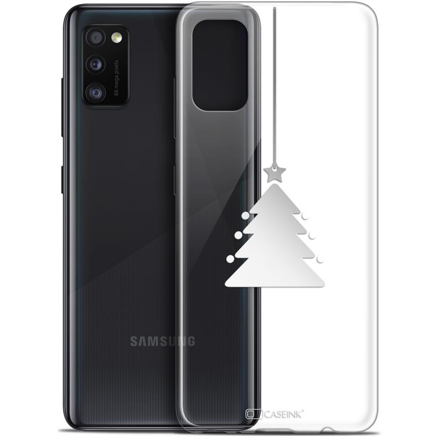 "Coque Gel Samsung Galaxy A41 (6.1"") Extra Fine Noël - Petit Arbre"