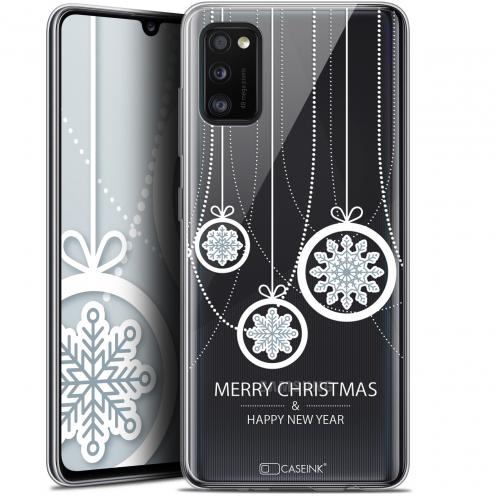 "Coque Gel Samsung Galaxy A41 (6.1"") Extra Fine Noël - Christmas Balls"