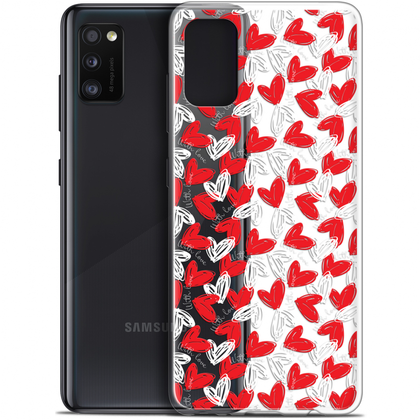 "Coque Gel Samsung Galaxy A41 (6.1"") Extra Fine Love - With Love"