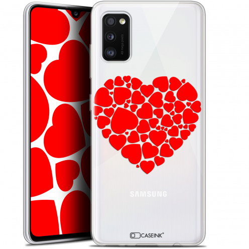 """Coque Gel Samsung Galaxy A41 (6.1"""") Extra Fine Love - Coeur des Coeurs"""