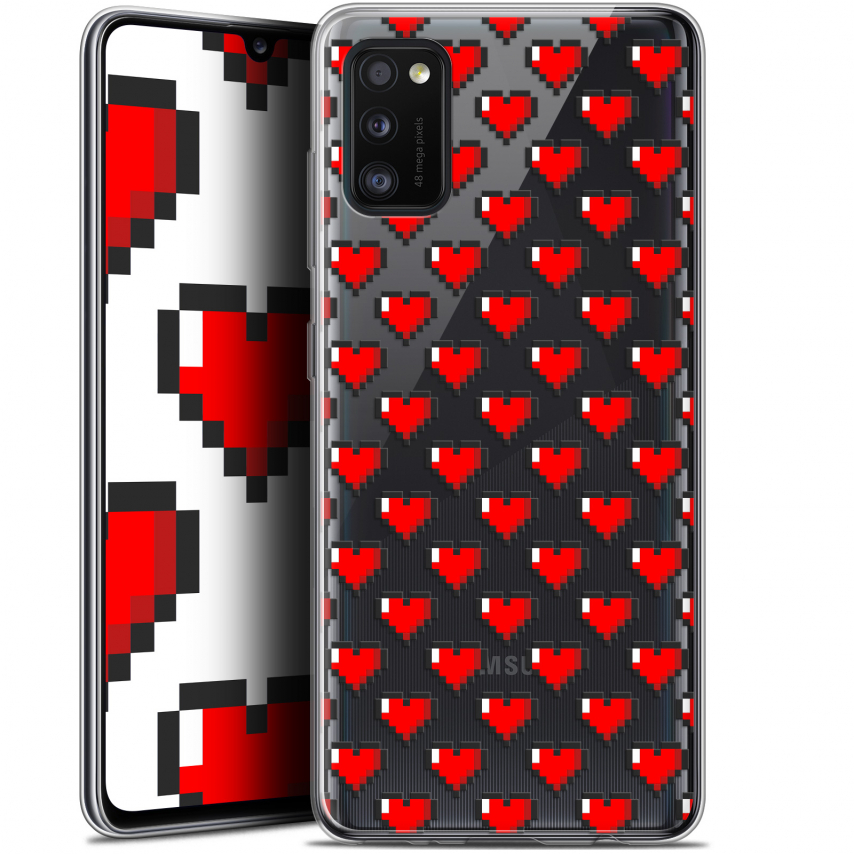 "Coque Gel Samsung Galaxy A41 (6.1"") Extra Fine Love - Pixel Art"