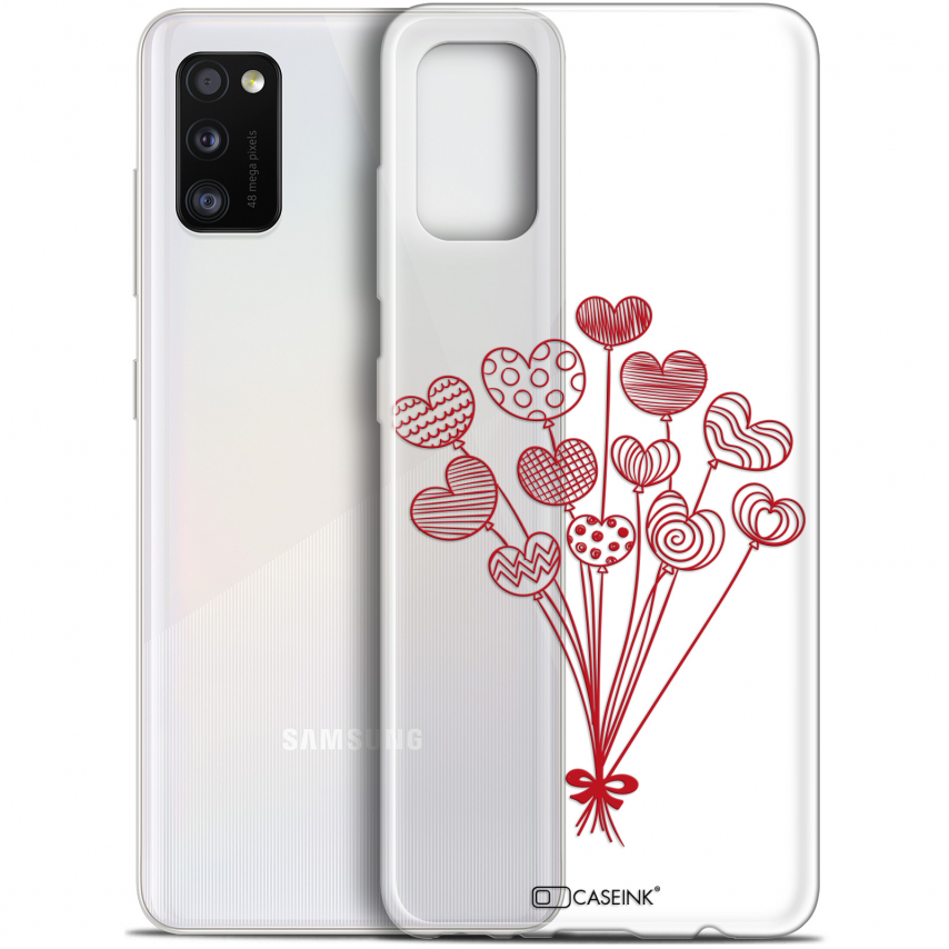 "Coque Gel Samsung Galaxy A41 (6.1"") Extra Fine Love - Ballons d'amour"