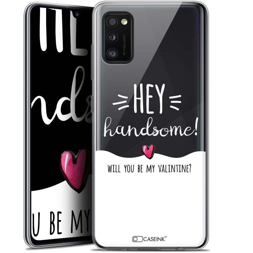 "Coque Gel Samsung Galaxy A41 (6.1"") Extra Fine Love - Hey Handsome !"