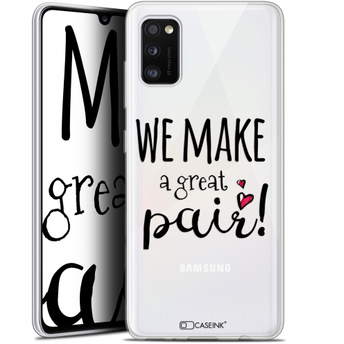 "Coque Gel Samsung Galaxy A41 (6.1"") Extra Fine Love - We Make Great Pair"