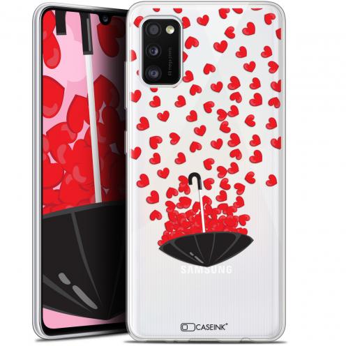 "Coque Gel Samsung Galaxy A41 (6.1"") Extra Fine Love - Parapluie d'Amour"