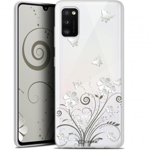 "Coque Gel Samsung Galaxy A41 (6.1"") Extra Fine Summer - Papillons"