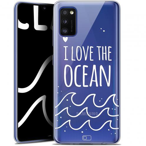 "Coque Gel Samsung Galaxy A41 (6.1"") Extra Fine Summer - I Love Ocean"