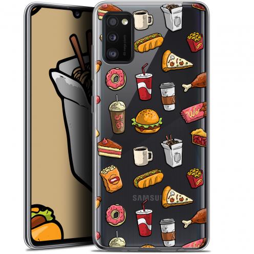 """Coque Gel Samsung Galaxy A41 (6.1"""") Extra Fine Foodie - Fast Food"""