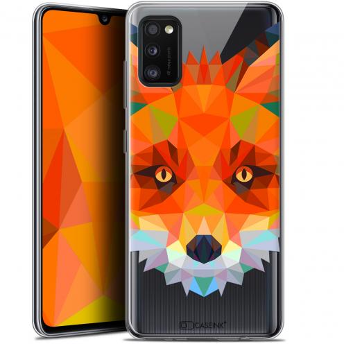 """Coque Gel Samsung Galaxy A41 (6.1"""") Extra Fine Polygon Animals - Renard"""