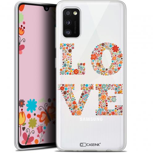 "Coque Gel Samsung Galaxy A41 (6.1"") Extra Fine Summer - Love Flowers"