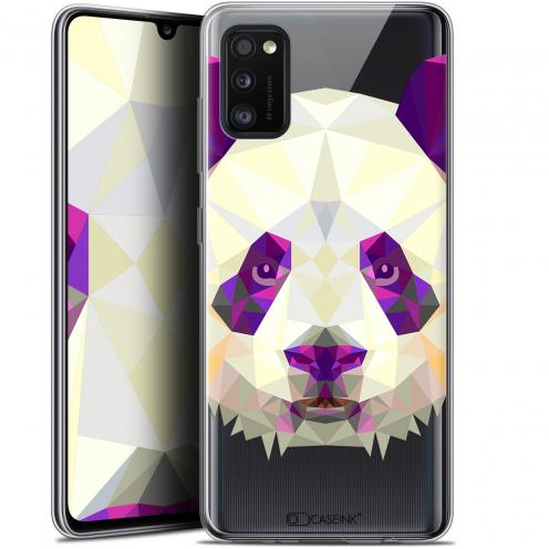 "Coque Gel Samsung Galaxy A41 (6.1"") Extra Fine Polygon Animals - Panda"